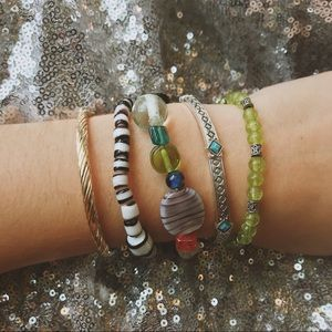 Jewelry - VINTAGE Handmade Bracelet Set